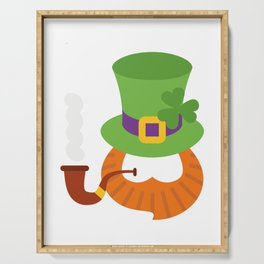 Funny St. Patrick's Day for Kids Boy Serving Tray