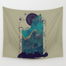 Northern Nightsky Wall Tapestry