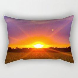 The Sun, Moon and Stars Rectangular Pillow