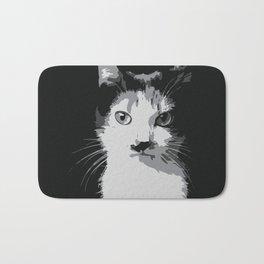 A Feline Mastermind Bath Mat