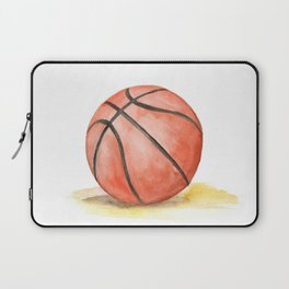 Basketball Watercolor Laptop Sleeve