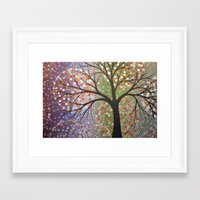 constellations Framed Art Prints featuring Constellations  by Amy Giacomelli