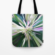 447 - Abstract Flower Design Tote Bag
