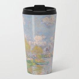 Spring by the Seine Travel Mug