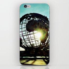 Sunset Globe  iPhone Skin