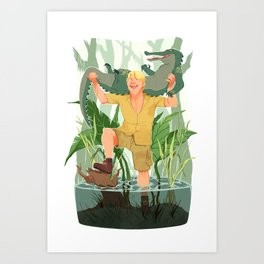 CRICKEY! Art Print