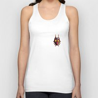 majoras mask Tank Tops featuring Zelda Majora's mask by ezmaya