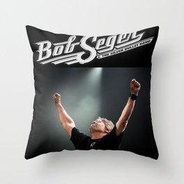 bob seger album 2020 ansel2 Throw Pillow