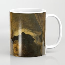 "Rembrandt Harmenszoon van Rijn, ""The Prodigal Son in the Brothel"", 1637 Coffee Mug"