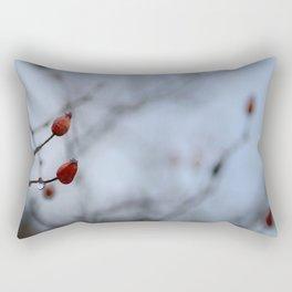 Red drop. Autumn dreams Rectangular Pillow