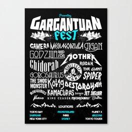 Gargantuan Fest Canvas Print