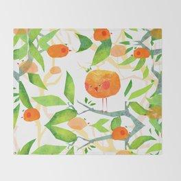 Mandariny Throw Blanket