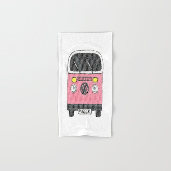 Peace Bus Hand & Bath Towel