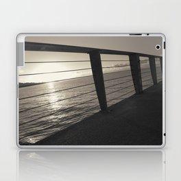 Sunrise On Pier Laptop & iPad Skin