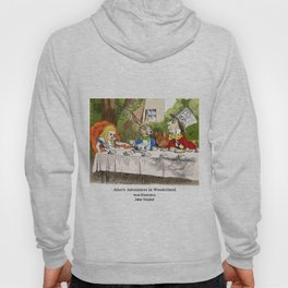 "John Tenniel, "" Alice's Adventures in Wonderland "",color ver.2 Hoody"