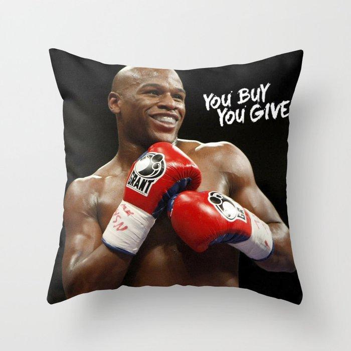 Floyd #1 Throw Pillow