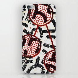 Lotus Spatter iPhone Skin