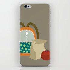 Backpacks & lunch sacks iPhone & iPod Skin