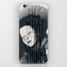 Oh, Naive Little Me iPhone & iPod Skin