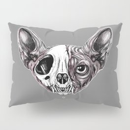 Shynx Half Skull Pillow Sham