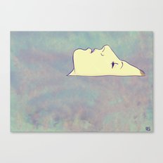 face up to the sky Canvas Print