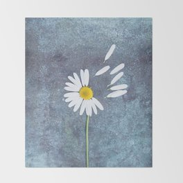 Daisy III Throw Blanket