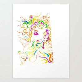 Ella/Ella Art Print