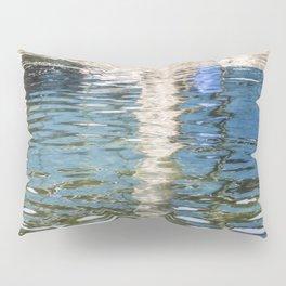 Reflecting Blues Pillow Sham