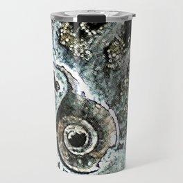 Pyrite after Ammonite Travel Mug