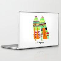 heels Laptop & iPad Skins featuring Aztec - Heels by RsDesigns