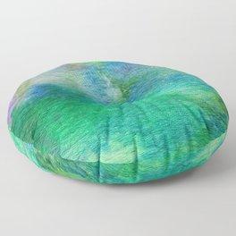 Abstract No. 663 Floor Pillow