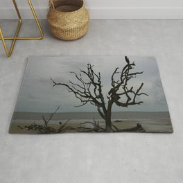 Ghost Tree Beach Rug