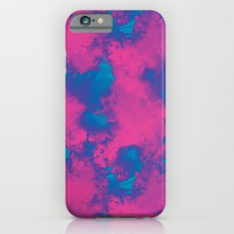 Cotton Candy Clouds iPhone Case
