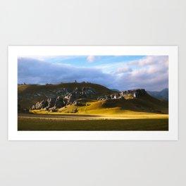 Castle hill 2 Art Print