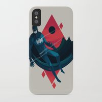 knight iPhone & iPod Cases featuring Knight by Reno Nogaj
