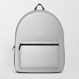 White to Gray Vertical Linear Gradient Backpack