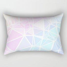 Pastel Triangles 1 Rectangular Pillow