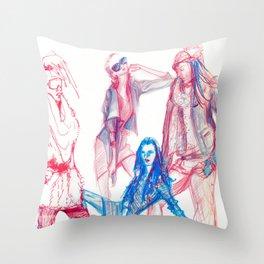 The Cool Kids Throw Pillow