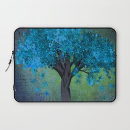 TREE OF BLUE Laptop Sleeve