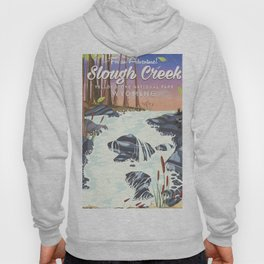 Slough Creek Yellowstone national park Hoody