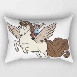 Espresso Yourself Tina Belcher Inspied Unicorn Rectangular Pillow