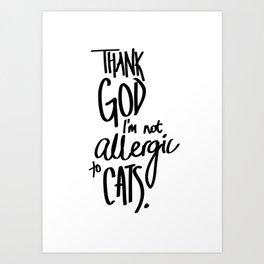 And I'm Thankful Everyday Art Print