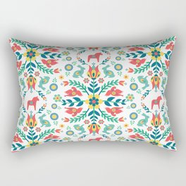 Swedish Folklore Rectangular Pillow