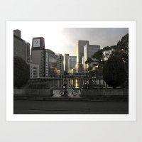 City of Glass Art Print