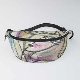Abstract Nude Goddess No. 40L by Kathy Morton Stanion Fanny Pack