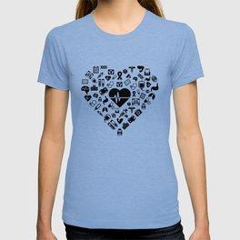 I Love First Aid | Doctor Nurse Heart Hospital T-shirt