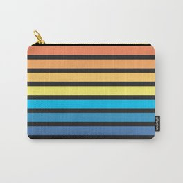 Stripe Sunset Carry-All Pouch