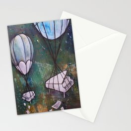 piano jamms Stationery Cards