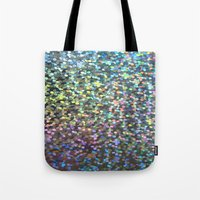 holographic Tote Bags featuring Holographic I by Featured Interiors
