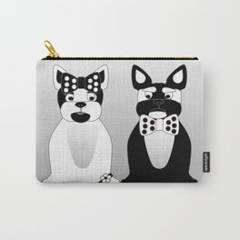 Date Night  - French Bulldogs Carry-All Pouch